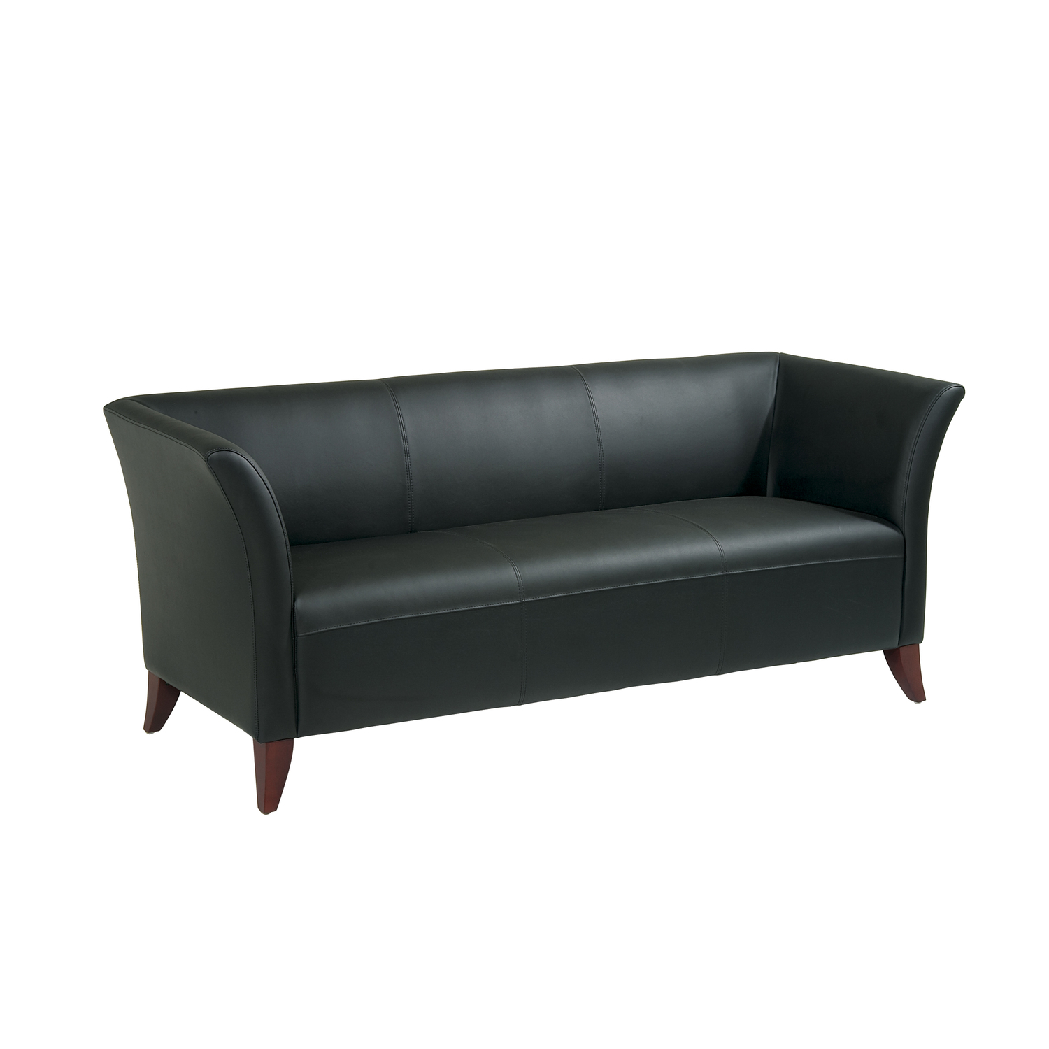 Office star leather sofa ojcommerce for Furniture sofas and couches