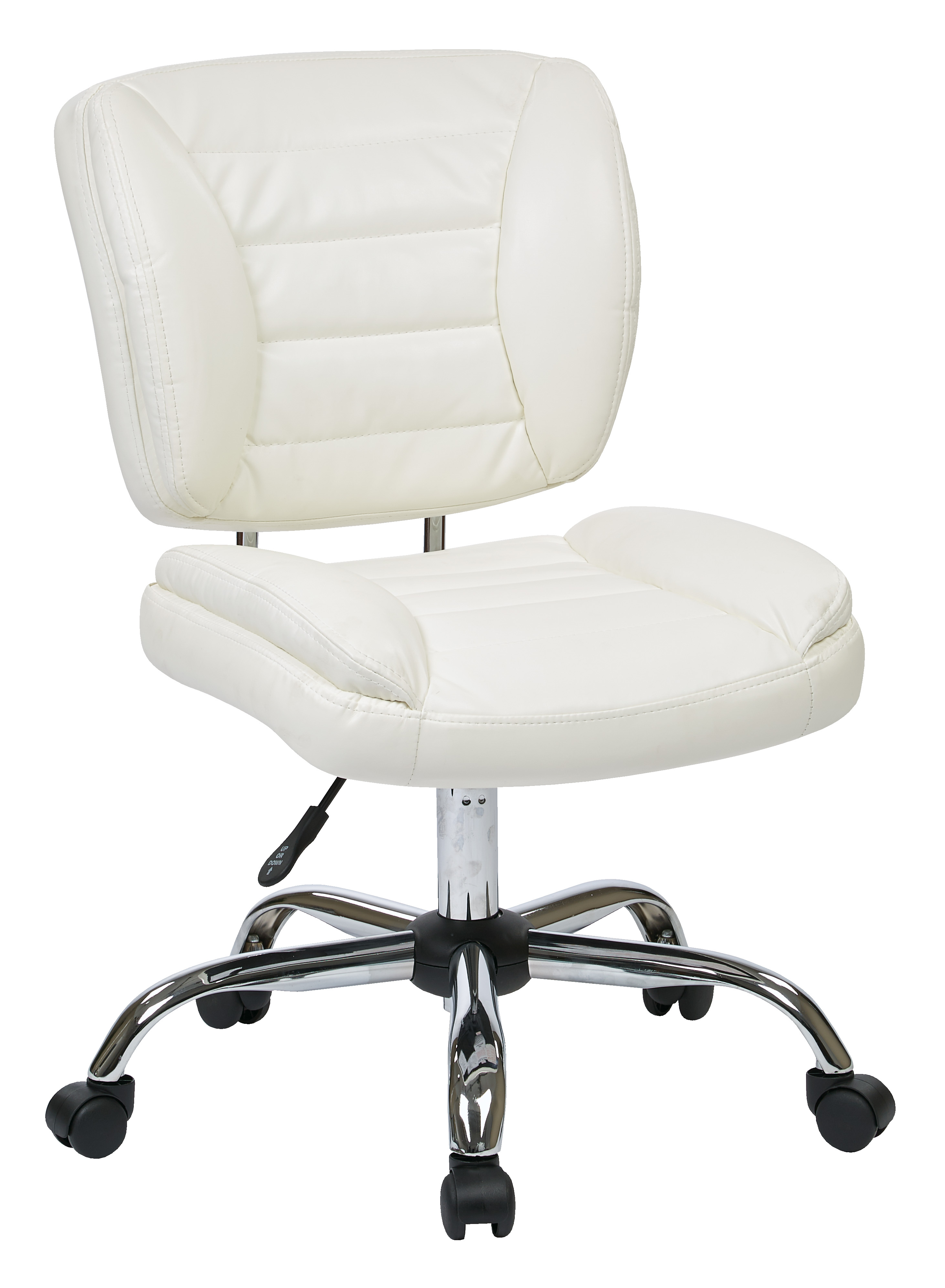 Armless task chair from to ojcommerce for Armless office chairs