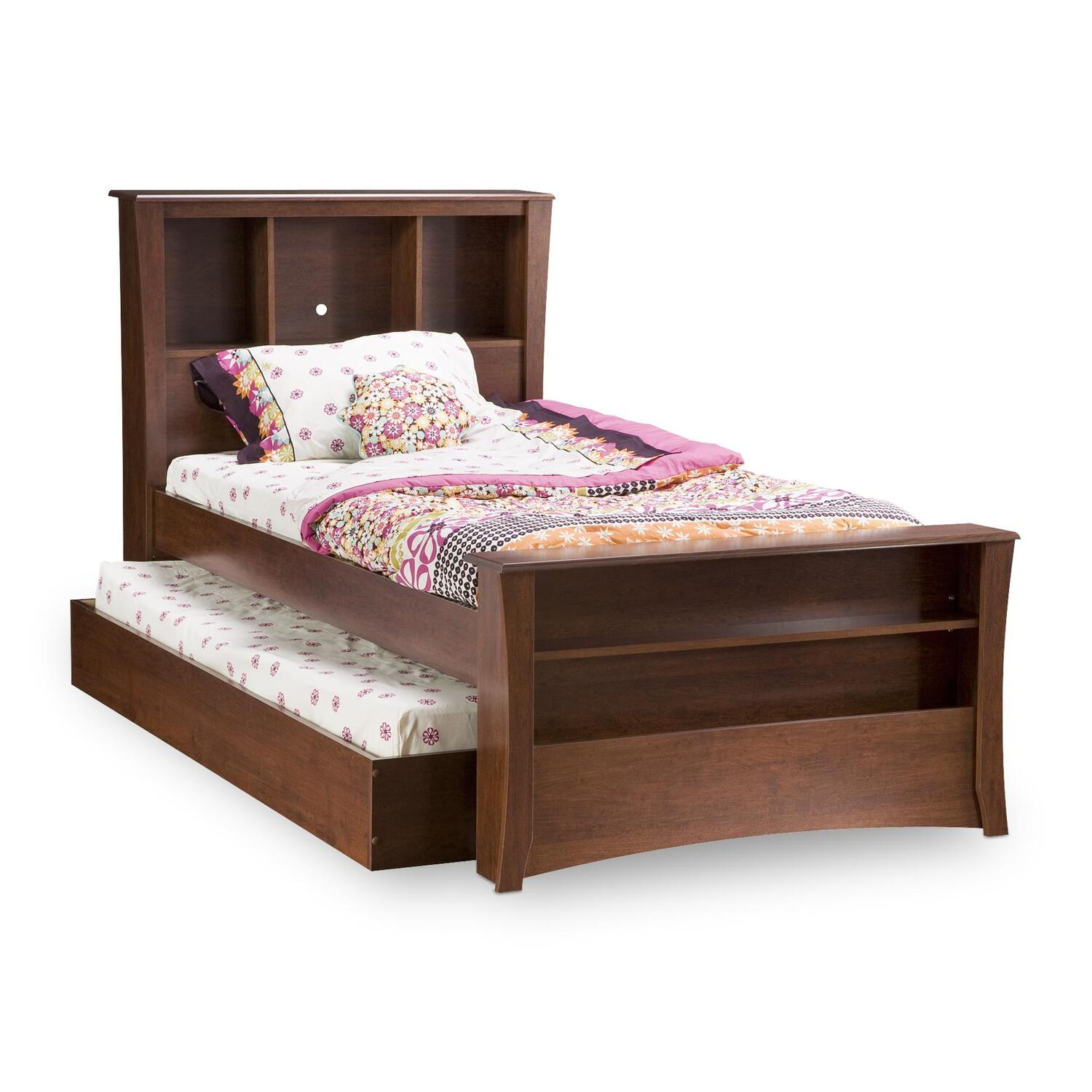 Twin size bed frame with storage for Double bed with storage and mattress