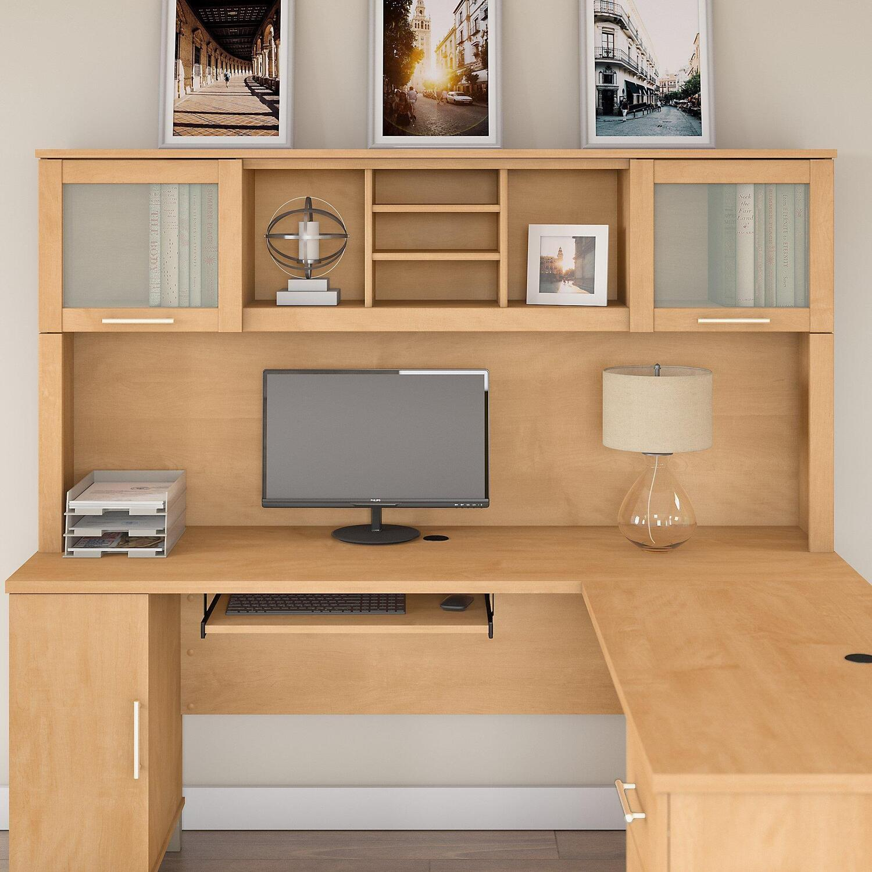 Hutch For L Desk 71 Quot 243 75 Ojcommerce