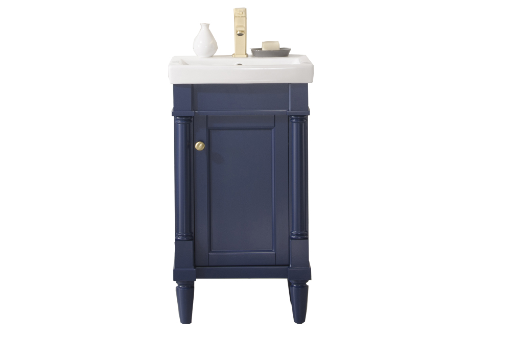 Legion Furniture 18-inch Blue Sink Vanity | eBay