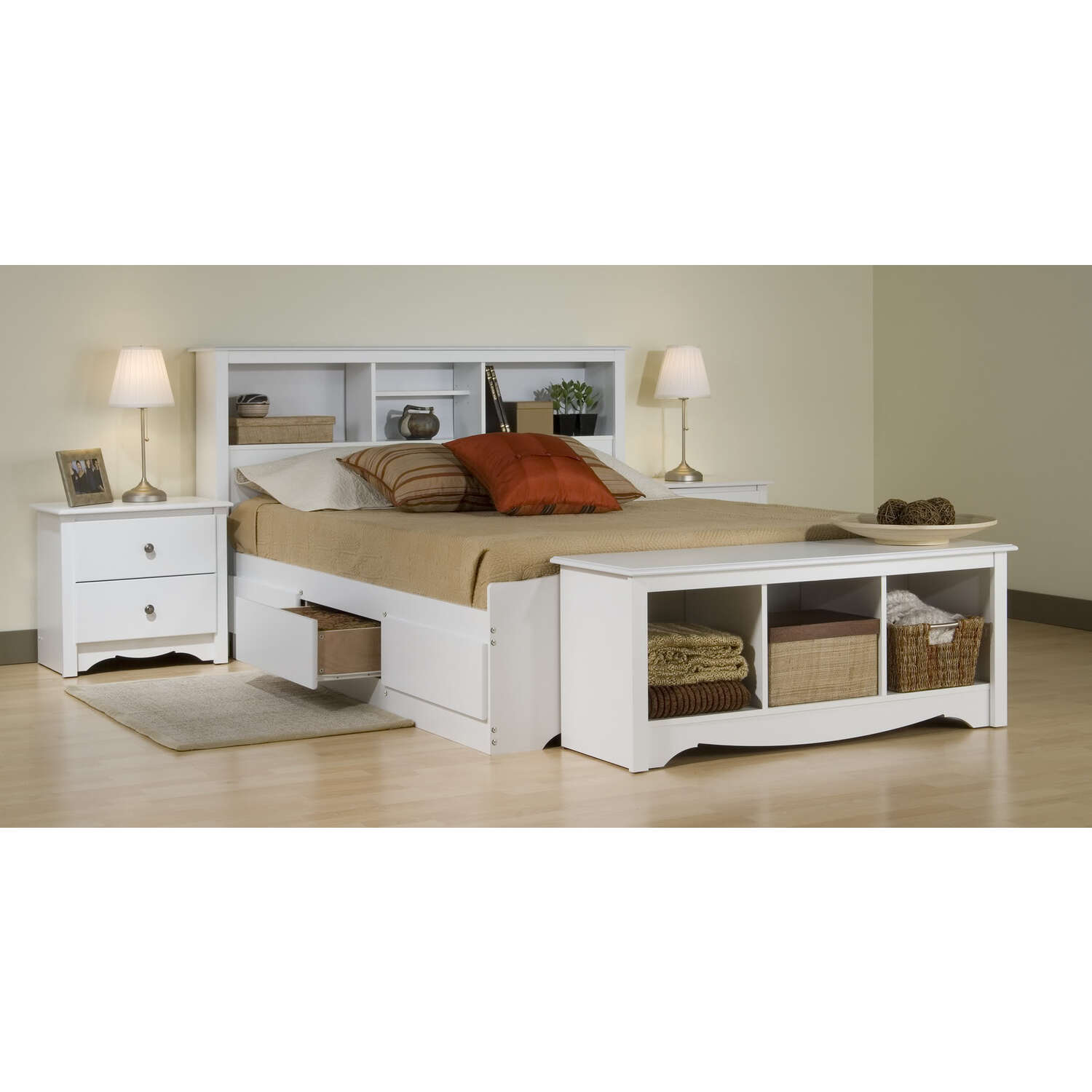 Monterey Bedroom Set - [WMQB5PC]