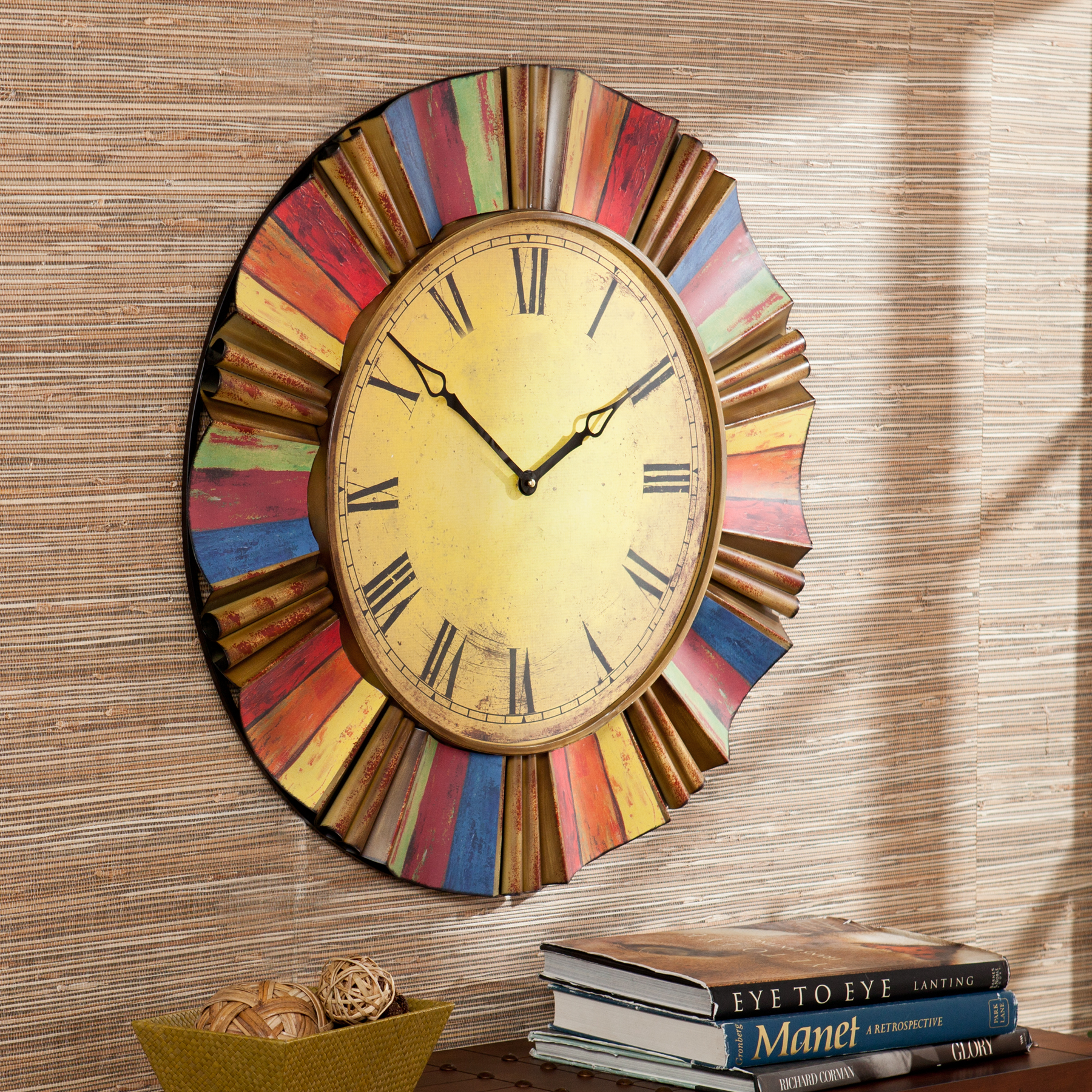 Multicolor Wall Clock - $100.93 | OJCommerce
