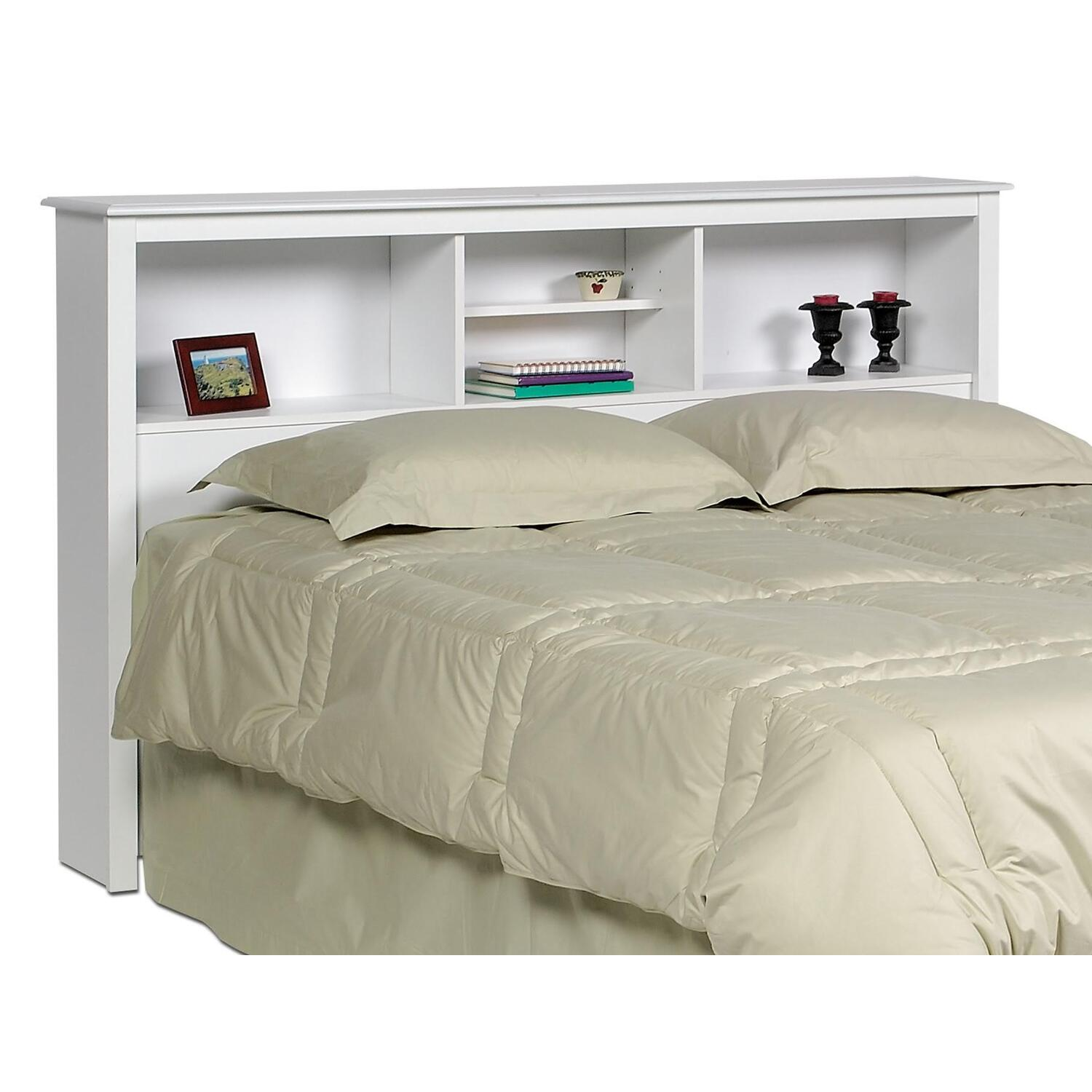 co bed d twin beds bookshelf nongzi storage white mate
