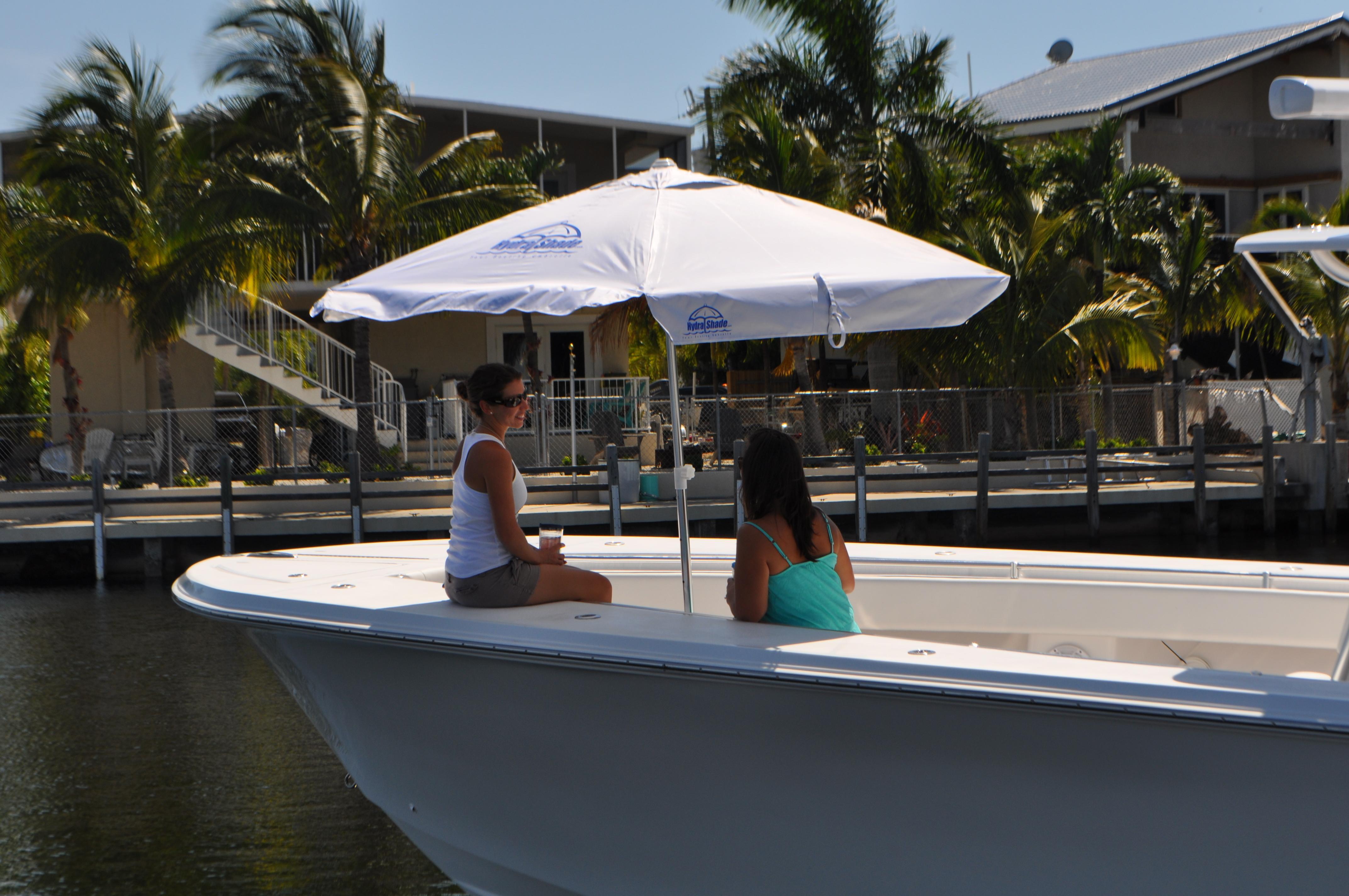 Hydra Shade 8 Square Boating Amp Beach Umbrella 4 Piece Kit