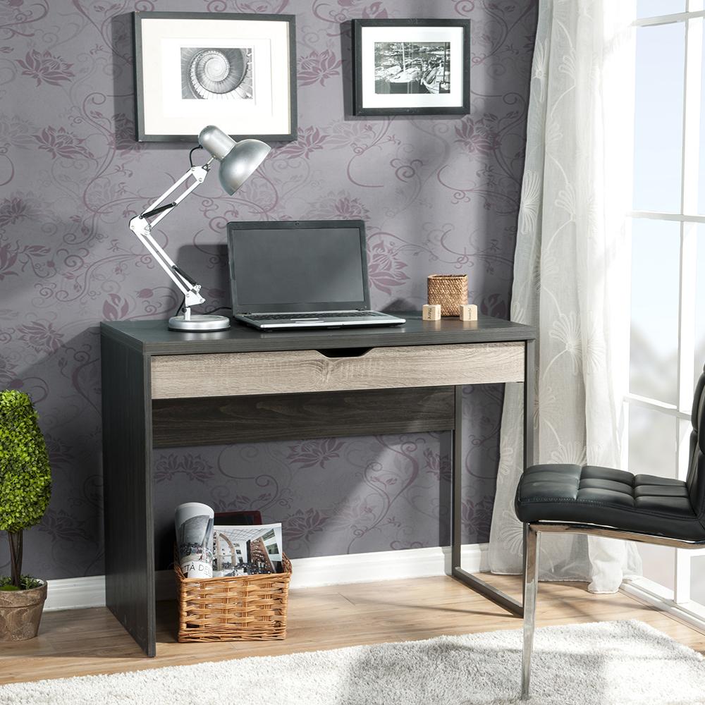 Homestar 1-Drawer Laptop Desk in Reclaimed Wood - [Z1430257]