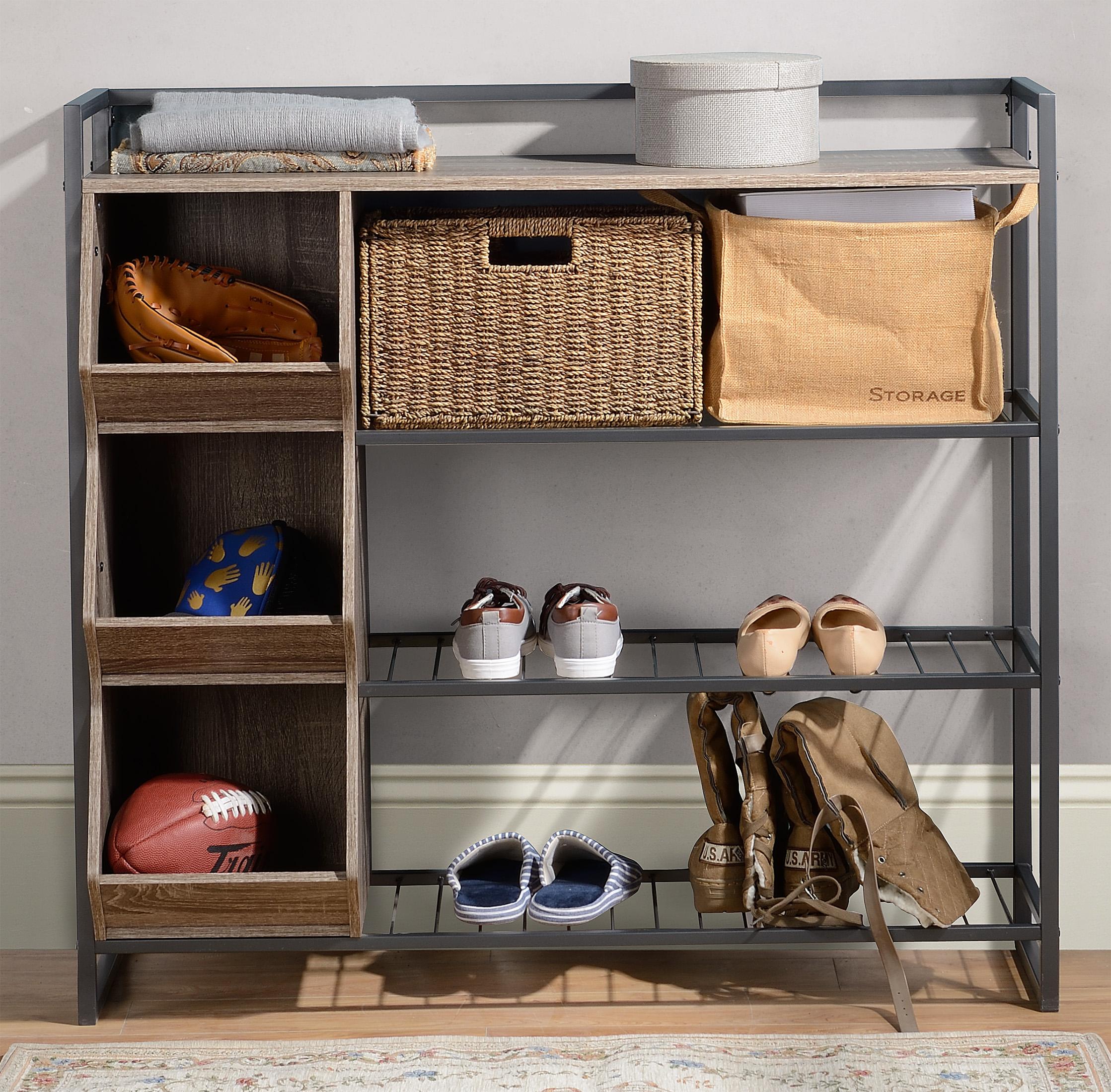 Homestar 4-Shelf Shoe Rack - [Z1510473]