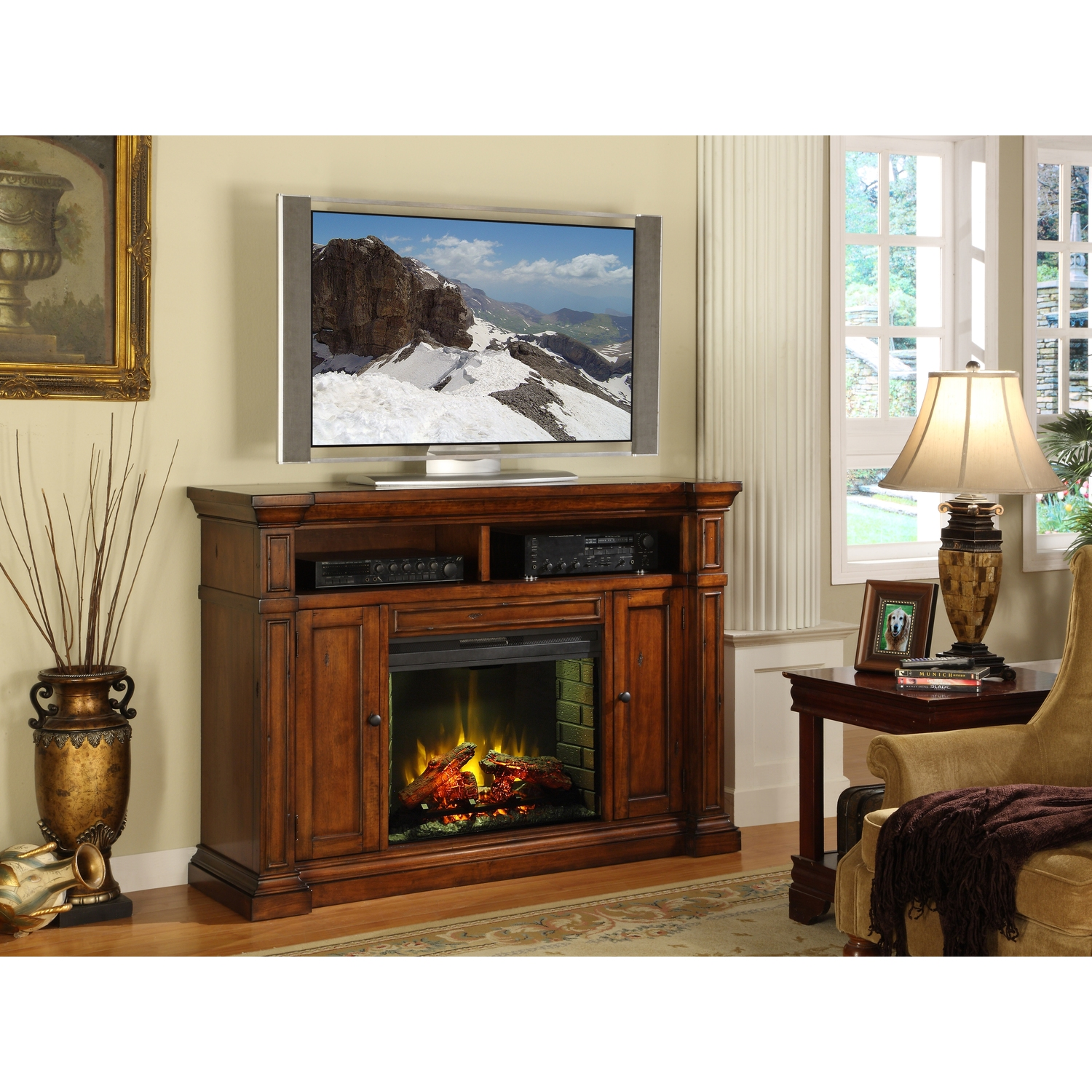 Berkshire Fireplace Media Center $1183 29