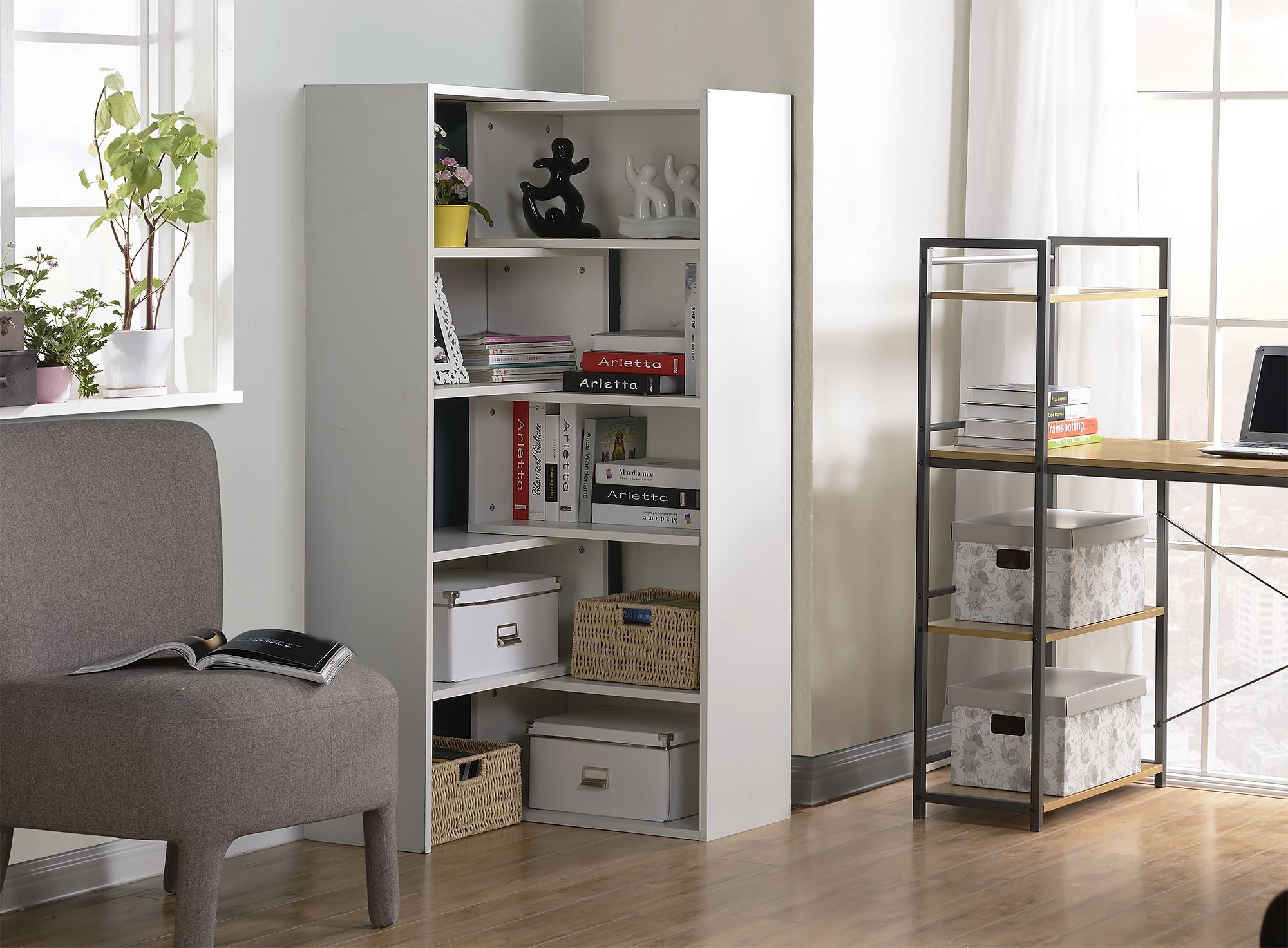 Expandable Shelving Console - [ZH1415812W]