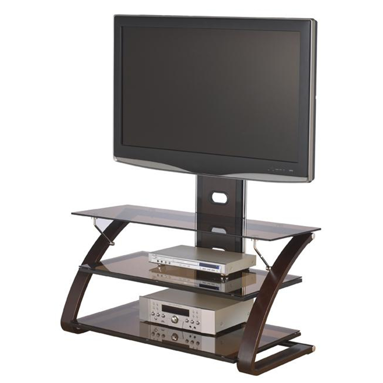 Vitoria Flat Panel Tv Stand With Integrated Mount Ojcommerce
