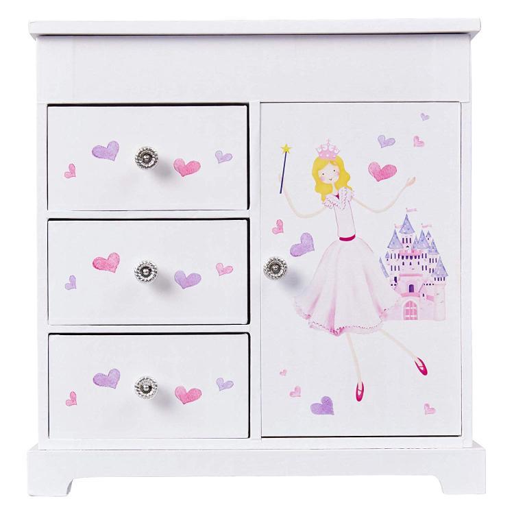 Mele & Co. Adalyn Girl's Musical Ballerina Jewelry Box