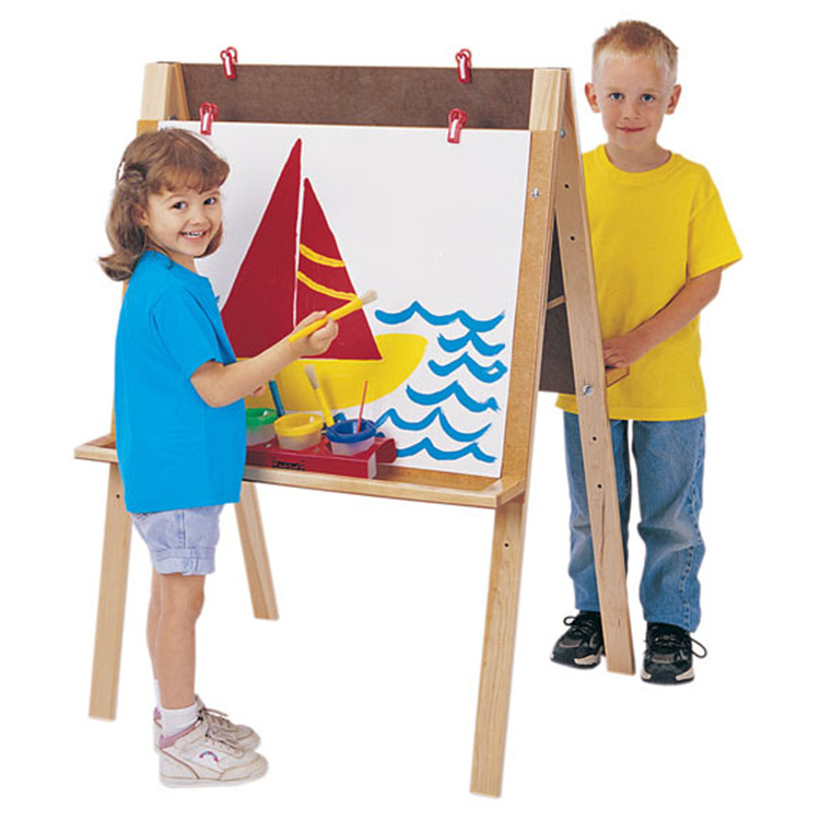 Jonti-craft Double Adjustable Easel