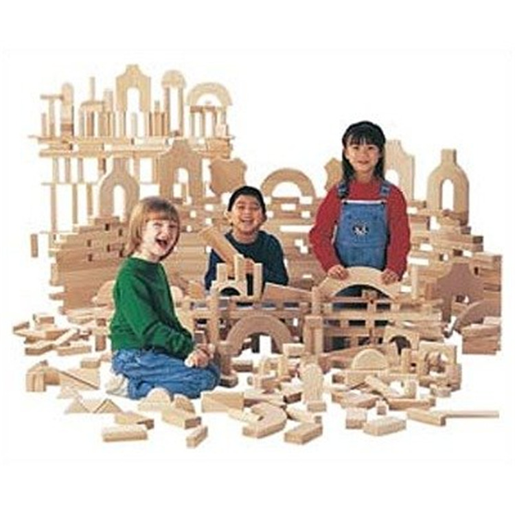 Jonti-Craft Unit Blocks - Starter Set Of 86 Pieces, 14 Shapes