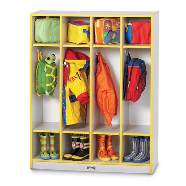 Jonti-craft Coat Locker - 4 Sections