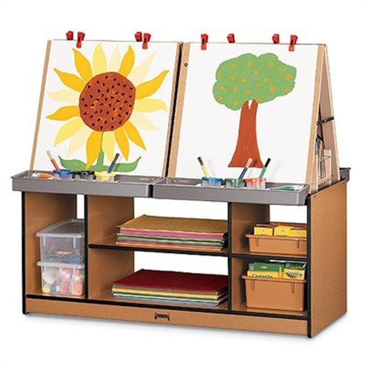 Rainbow Accents 4 Station Easel