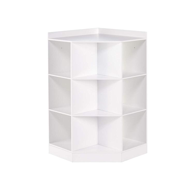 RiverRidge Home 6-Cubby, 3-Shelf Corner Cabinet for Kids