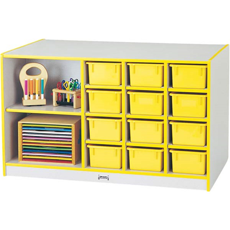Rainbow Accents Storage Island Without Trays