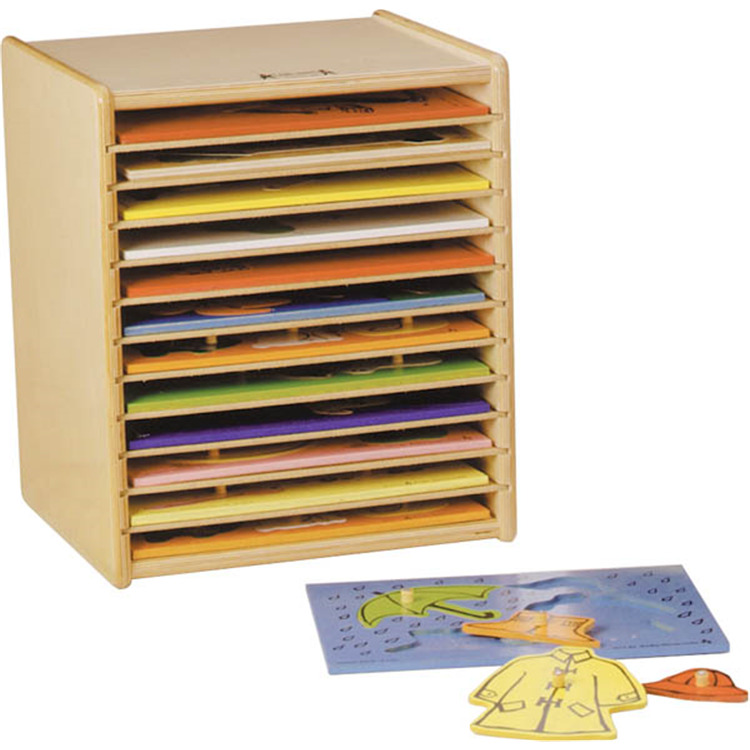 Jonti-Craft Puzzle Case - 12 Space