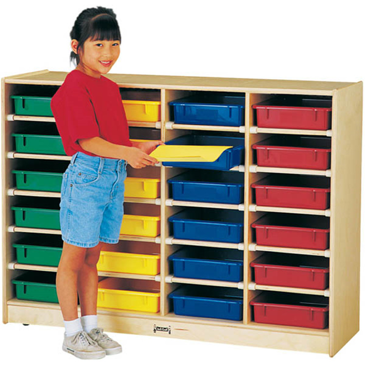 Jonti-Craft 24 Paper-tray Cubbie Without Paper-trays
