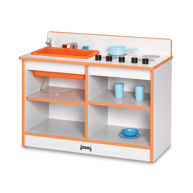 Rainbow Accents 2-in-1 Toddler Kitchen