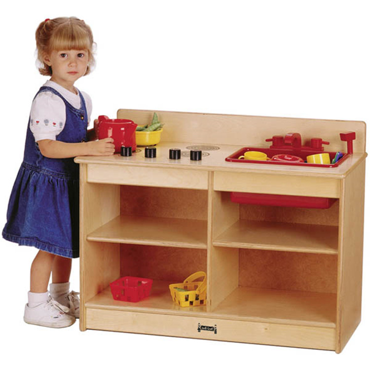 ThriftyKYDZ® 2-in-1 Toddler Kitchen