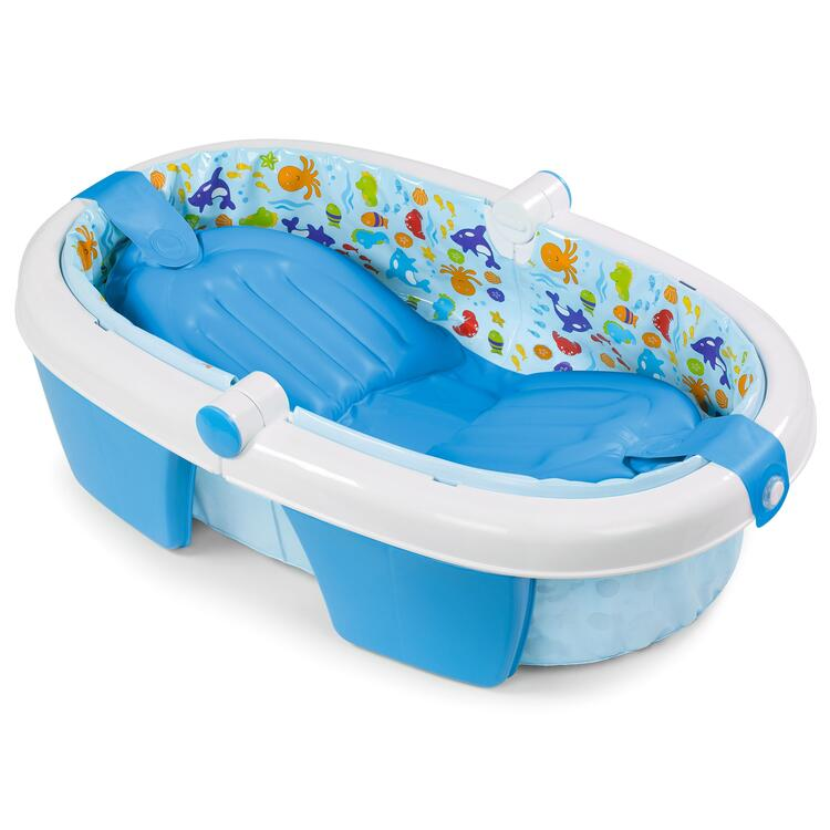 Newborn-To-Toddler Fold Away Baby Bath