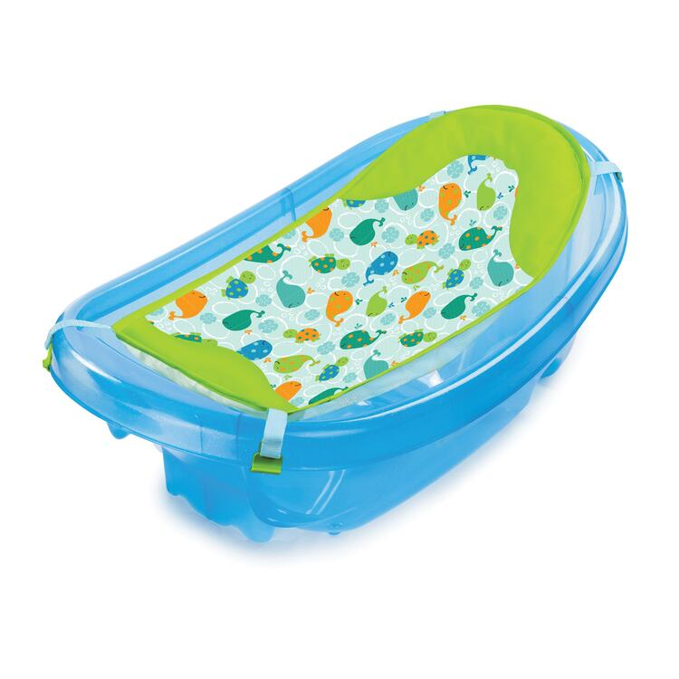 Sparkle 'N Splash Newborn-To-Toddler Baby Bath