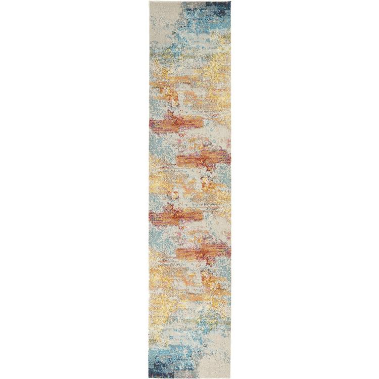 Nourison Abstract CES02 Celestial Runner Rug [Item # 099446722706]