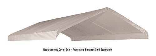 12×20 White Canopy Replacement Cover, Fits 2