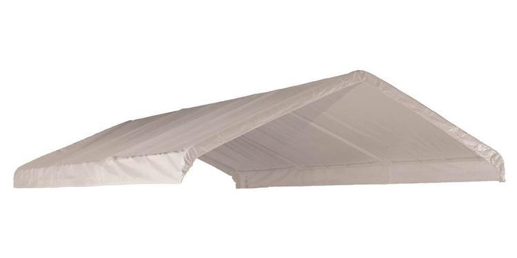 ShelterLogic 12×26 White Canopy Replacement Cover, Fits 2