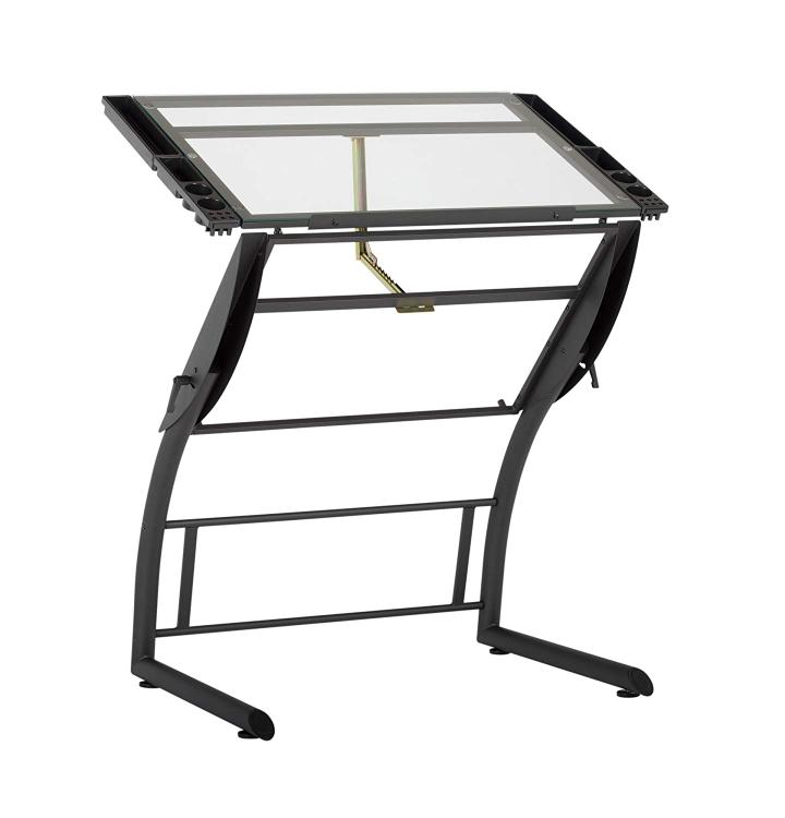 Studio Designs Triflex Drawing Table in Charcoal