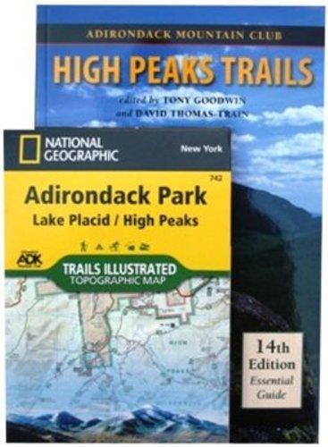 Adirondack Maps Adirondack Trails: High Peaks Region