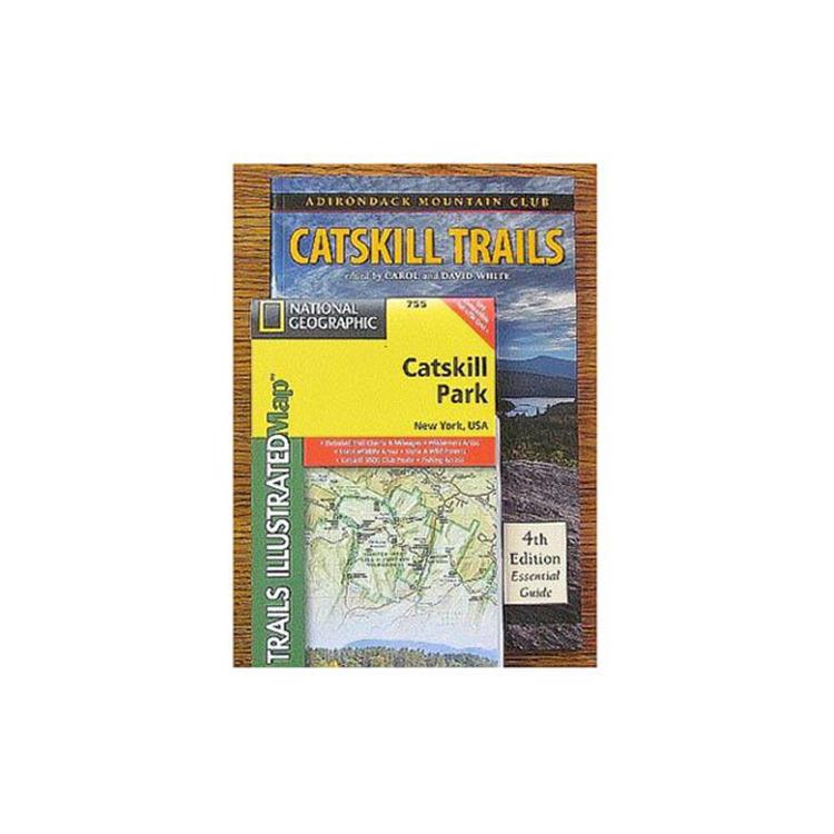 Adk Catskill Trls Gd & Map Pk