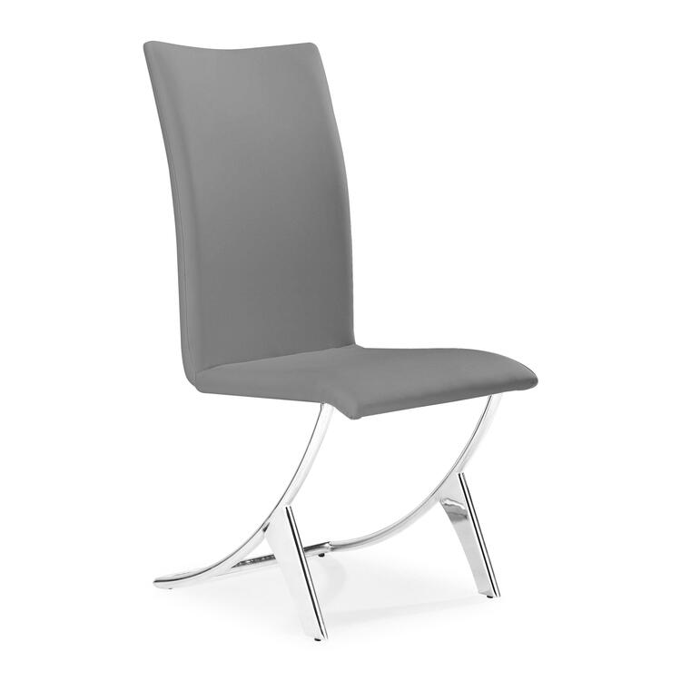 Delfin Dining Chair Gray