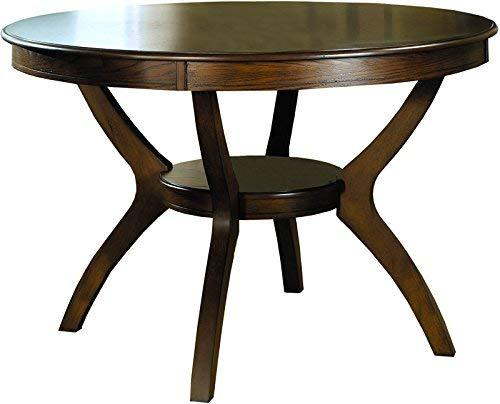 Coaster Home Nelms Casual Deep Brown Dining Table