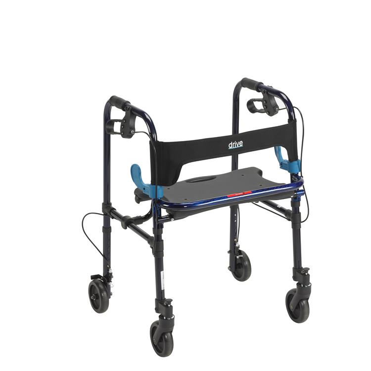 Drive Medical Clever Lite Walker Rollator [Item # 10230]