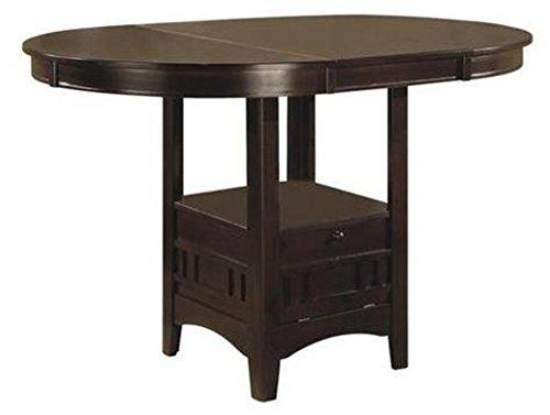 Coaster Lavon Espresso Counter Height Table