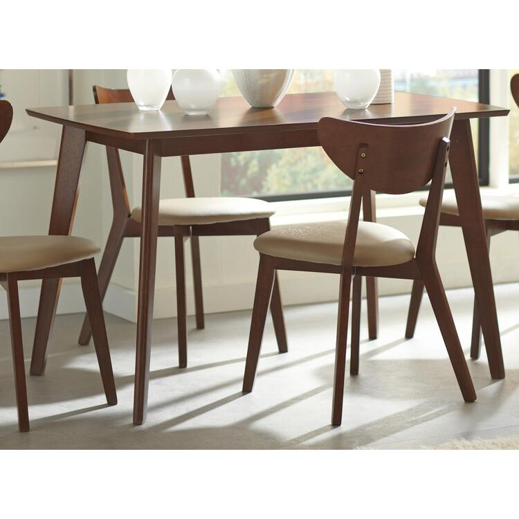 Coaster Kersey Retro Chestnut Dining Table