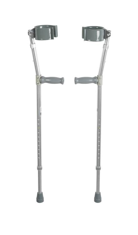 Lightweight Walking Forearm Crutches, Bariatric, 1 Pair [Item # 10403HD]