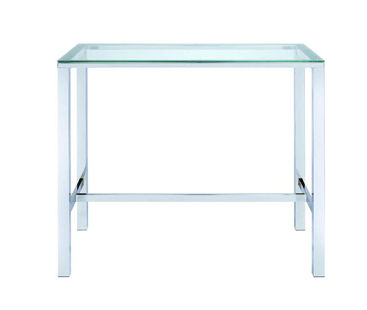 Coaster Contemporary Glass Bar Table