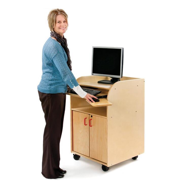 Jonti-Craft® Mobile Technology Stand - Keyboard Tray Kit Only