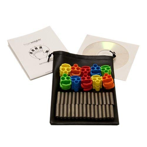 FEI FEI FingerWeights Finger Exerciser - 10 adjustable weight set, multi-colored