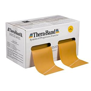 TheraBand® exercise band - 50 yards (2 x 25 yard rolls) - Gold - max