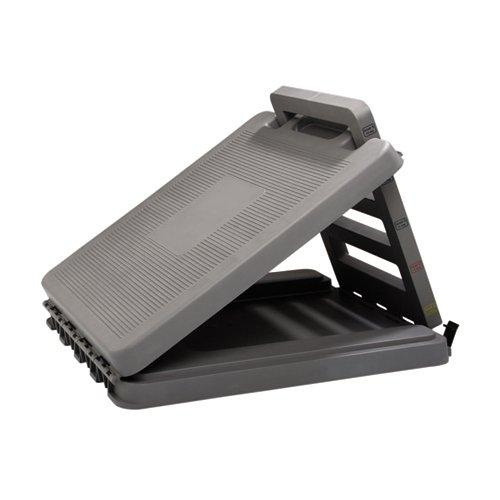 CanDo FabStretch 4-Level Incline Board - Heavy Duty Plastic - 5, 15, 25, 35 Degree Elevation - 14
