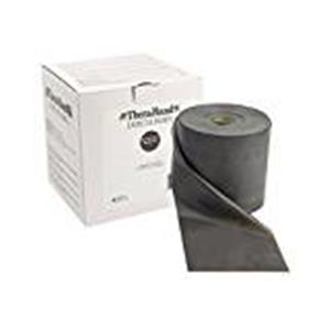 TheraBand® exercise band - Twin-Pak 100 yard roll - Black - special heavy (2, 50-yd boxes)