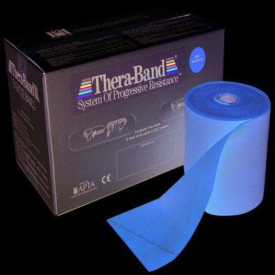 TheraBand exercise band - Twin-Pak 100 yard roll - Gold - max (2, 50-yd boxes)