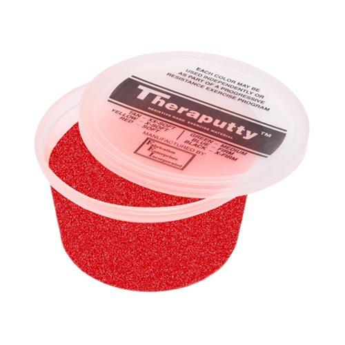 CanDo® Sparkle Theraputty® Exercise Material - 1 lb - Red - Soft