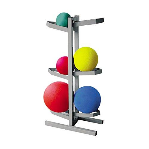 CanDo Plyometric Ball Rack - Two-Sided - Holds 6 Balls - 20
