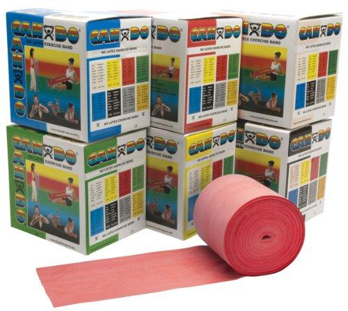 FEI FEI CanDo Low Powder Exercise Band - 50 yard roll - Blue - heavy