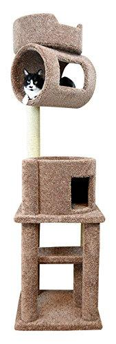 New Cat Condos Large Cat Tree Tower [Item # 110107-Brown]